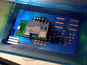 Test PCB for a bluetooth module
